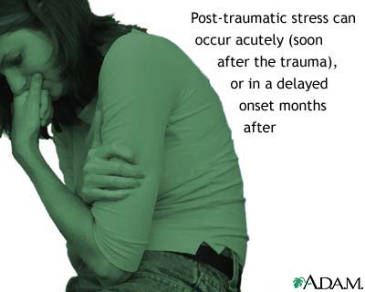 Post-traumatic stress disorder: MedlinePlus Medical Encyclopedia Image