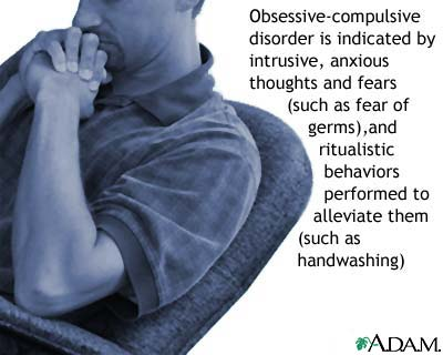 Obsessive-compulsive disorder: MedlinePlus Medical Encyclopedia Image