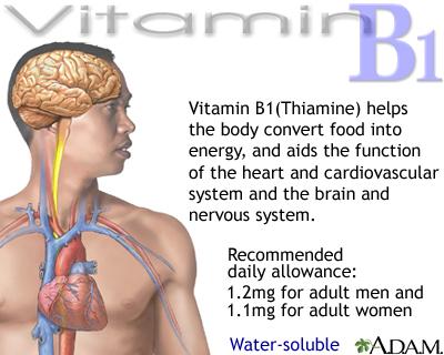 فيتامين ( ب1 – B1 ) - فيتامين الأعصاب &&&& 18098