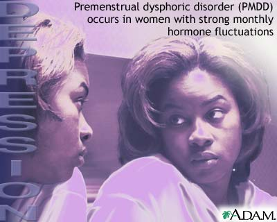 Depression and the menstrual cycle