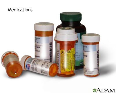 Allergic reactions to medication