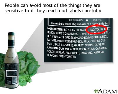 Читать этикетки на продуктах питания