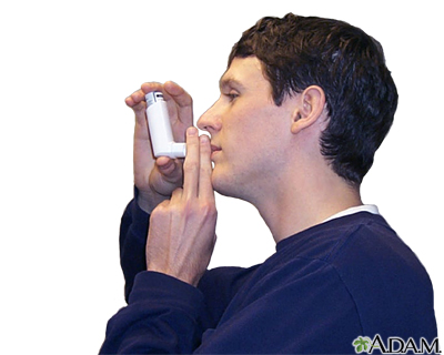 Metered dose inhaler use - part four