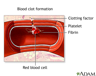 component of blood responsible for clotting