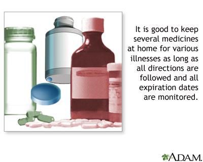 Over The Counter Medicines Medlineplus Medical Encyclopedia