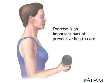 EXERCISES FOR PREVENTIVE HEALTHCARE