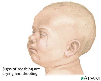 Teething symptoms
