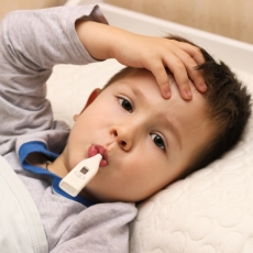 What conditions can cause a fever?