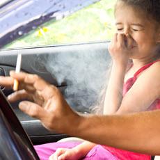Inhalación pasiva de humo