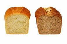 Fotografía de dos hogazas de pan