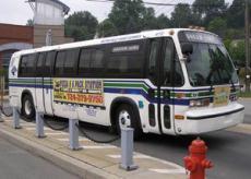 Fotografía de un autobús