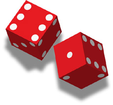 Illustration of dice
