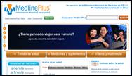 MedlinePlus en español página principal