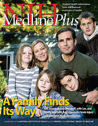Cover of the Fall 2008 MedlinePlus Magazine