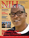 Cover of the Winter 2008 MedlinePlus Magazine
