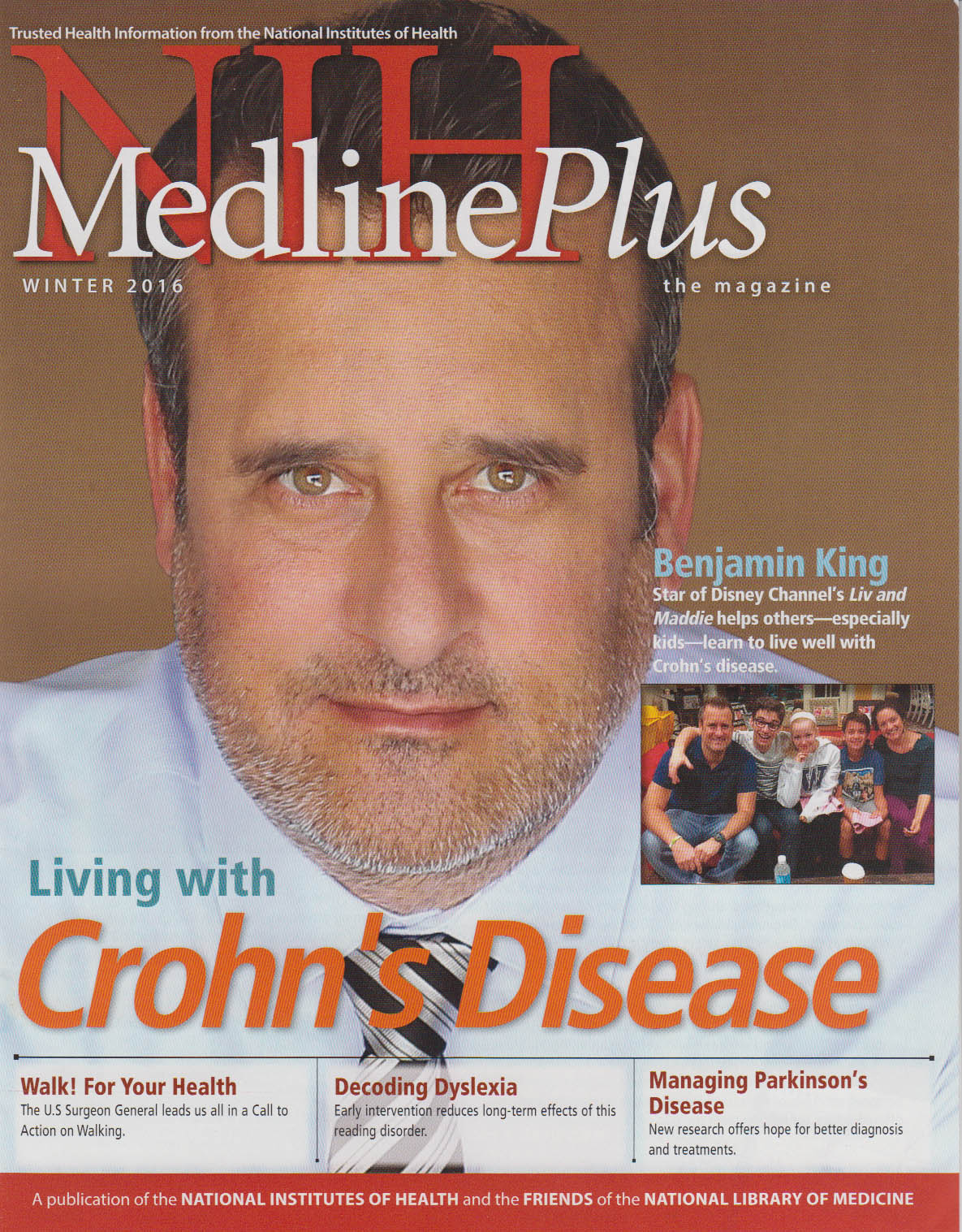 Cover of NIH MedlinePlus the Magazine Winter 2016 Issue