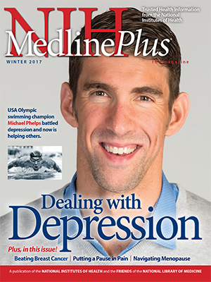Cover of NIH MedlinePlus the Magazine Winter 2017 Issue