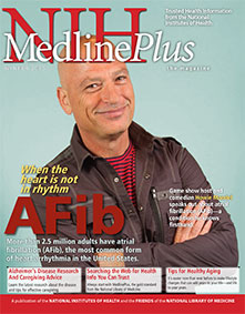 Cover of NIH MedlinePlus the Magazine Winter 2015 Issue