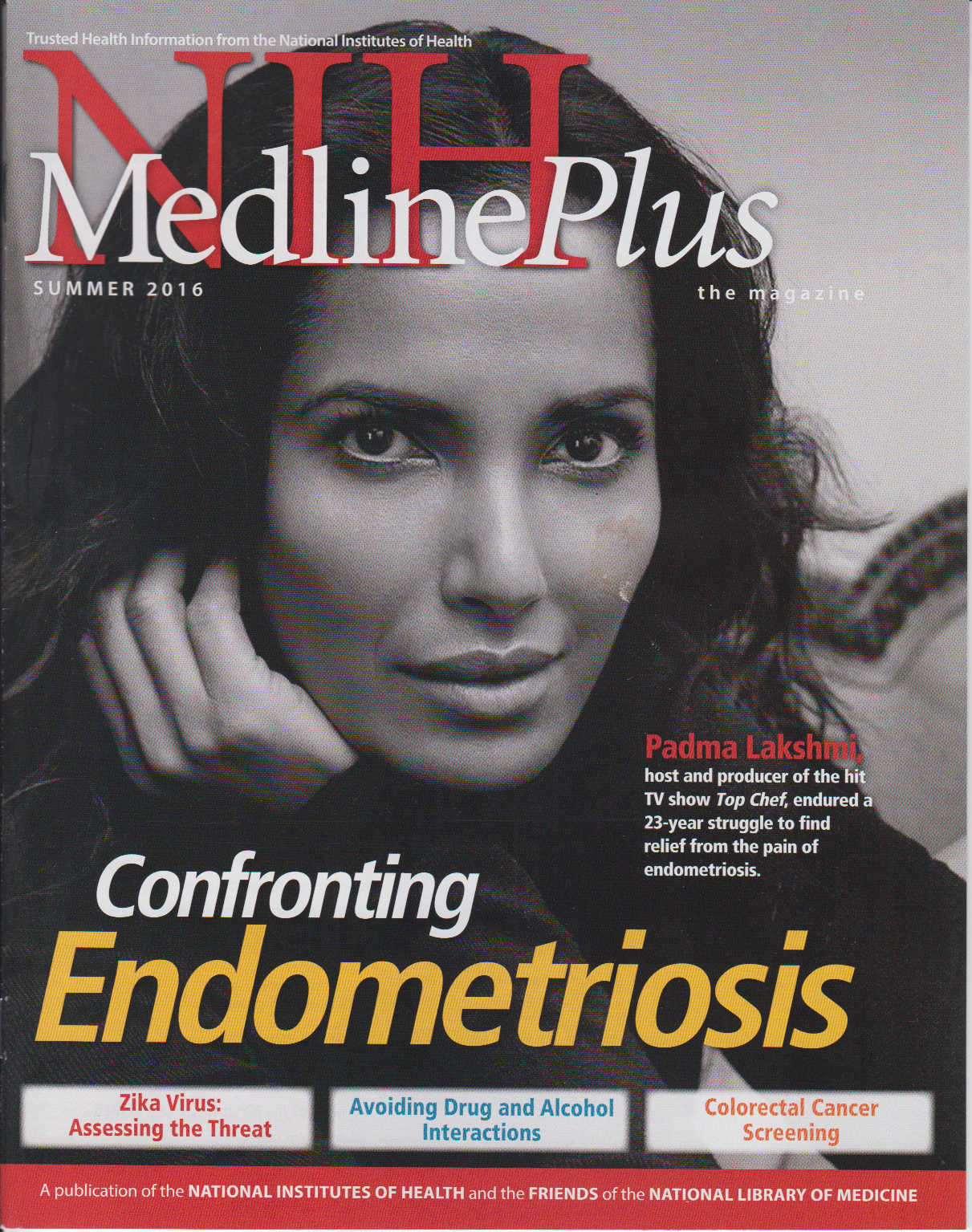 Cover of NIH MedlinePlus the Magazine Summer 2016 Issue