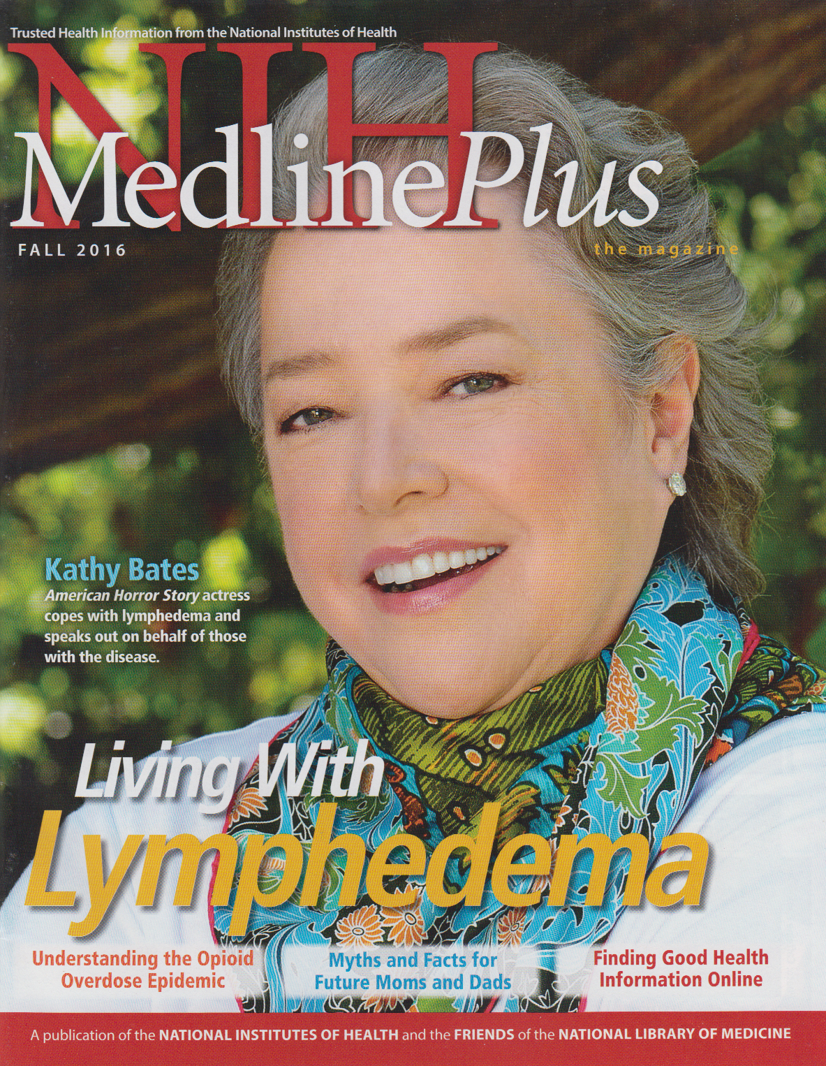 Cover of NIH MedlinePlus the Magazine Fall 2016 Issue