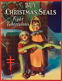 Buy Christmas Seals. Fight Tuberculosis poster