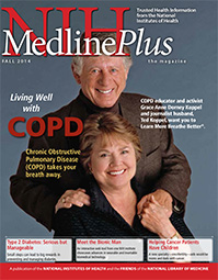Cover of NIH MedlinePlus the Magazine Fall 2014 Issue