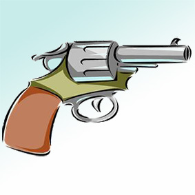 A revolver illustration