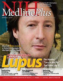 Cover of NIH MedlinePlus the Magazine Spring 2014 Issue