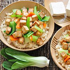 Tofu horneado