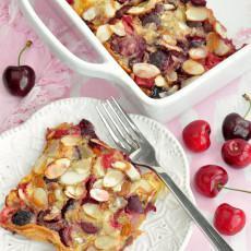 Cherry Puff Pancake