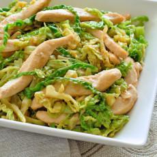 Chicken Cabbage Stir-fry