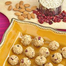 Cranberry Oatmeal Balls
