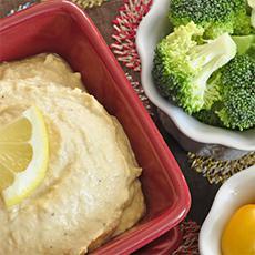 Hummus (no tahini)
