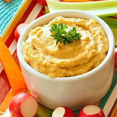 Hummus (with tahini)