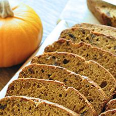 Low-fat Pumpkin Bread
