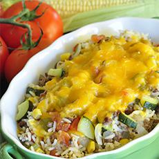 Mexican Vegetable and Beef Skillet Meal
