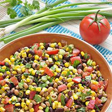 Vegetarian Cowboy Salad