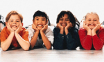 A photograph of children