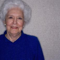 Photograph of a senior woman