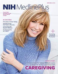 Cover of NIH MedlinePlus Magazine Spring 2018
