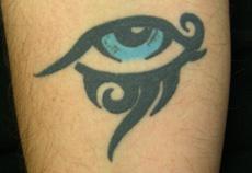 Fotografía de un tatuaje
