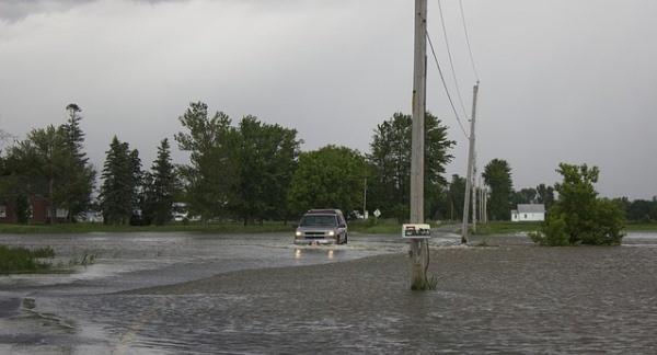 Página sobre las inundaciones
