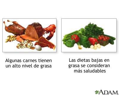 La dieta saludable