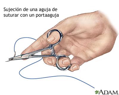 como suturar y hacer un buen botiquin