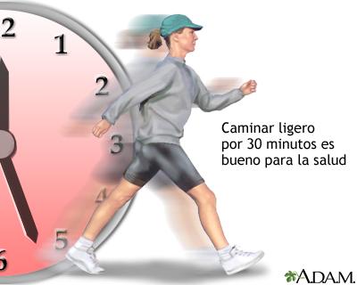 Caminar y la salud