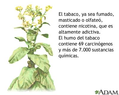 Tabaco y sustancias químicas