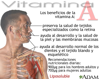 Beneficios de la vitamina A