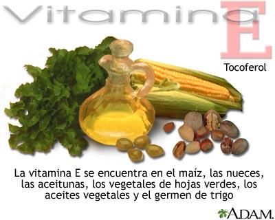 Fuentes de vitamina E