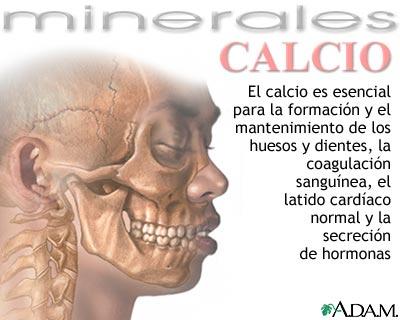 Beneficios del calcio