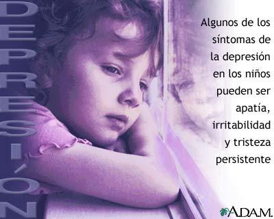 Depresión en los niños